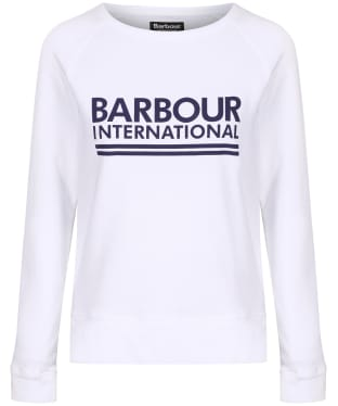 Women's Barbour International Arena Overlayer - White