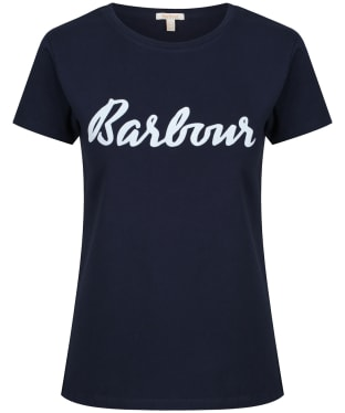 Women's Barbour Rebecca T-Shirt - Navy