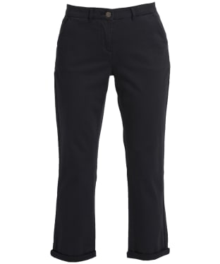 Women's Barbour Chino Trousers - Navy
