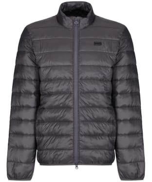 Men's Barbour International Reed Quilted Jacket - Charcoal