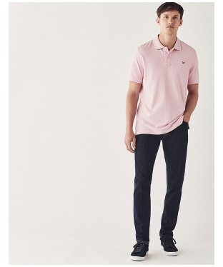 Men's Crew Clothing Classic Pique Polo Shirt - Classic Pink