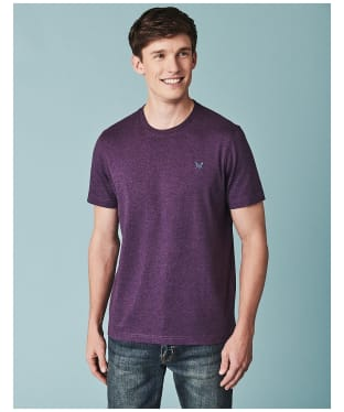 Men's Crew Clothing Classic Tee - Purple Marl
