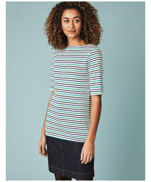Women's Crew Clothing Orchid Stripe Top