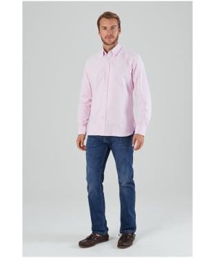 Men's Schöffel Soft Oxford Shirt - Pale Pink