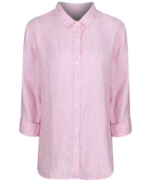 Women's Barbour Marine Shirt - Pink / White