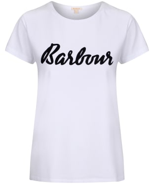 Women's Barbour Rebecca T-Shirt - White