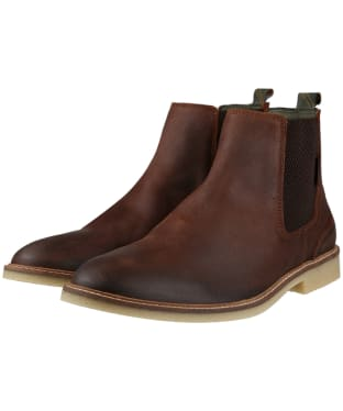 Men's Barbour Atacama Chelsea Boots - Rust Suede