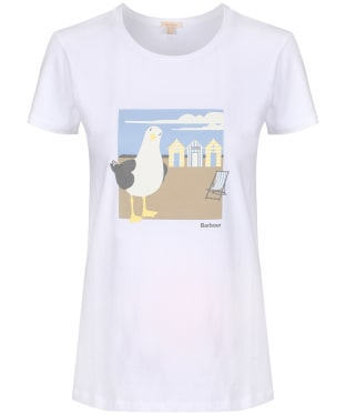 Women's Barbour Orla Tee - White