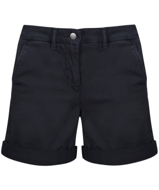 Women's Barbour Essential Chino Shorts - Navy