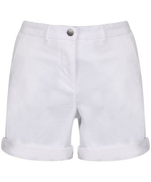 Women's Barbour Essential Chino Shorts - White