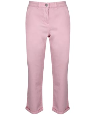 Women's Barbour Chino Trousers - Carnation