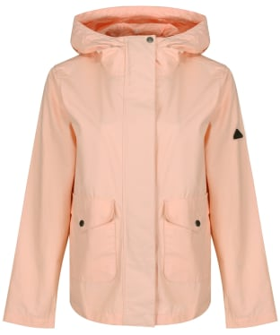 Women's Barbour Dip Showerproof Jacket - Pale Coral