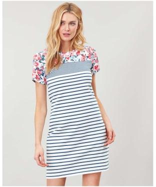 Women's Joules Riviera Print Dress - Cream Border Floral