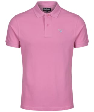 Men's Barbour Sports Polo 215G - Mauve