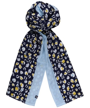 Women's Joules Conway Scarf - Navy Leopard