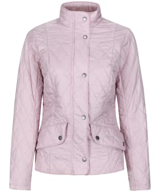 Women's Barbour Flyweight Cavalry Quilted Jacket - Blossom