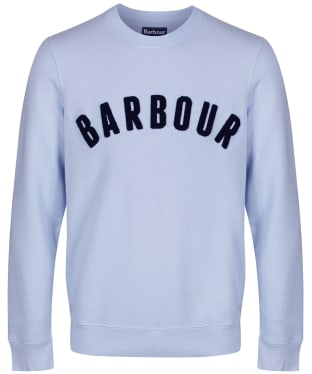 Men's Barbour Prep Logo Crew Sweater - Heritage Blue