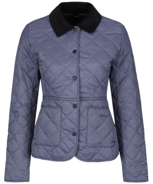 Women's Barbour Deveron Quilted Jacket - Slate Blue