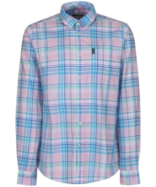 Men's Barbour Madras 6 Tailored Shirt - Pink Check