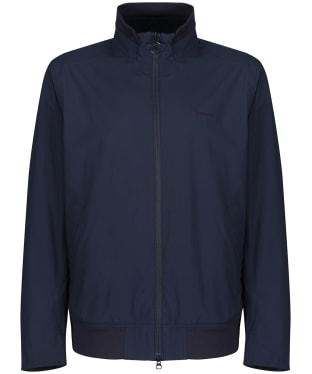 Men's Barbour Leyburn Waterproof Jacket - Navy
