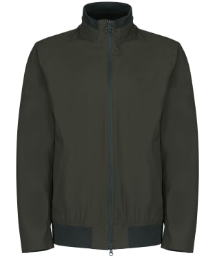 Men's Barbour Leyburn Waterproof Jacket - Olive