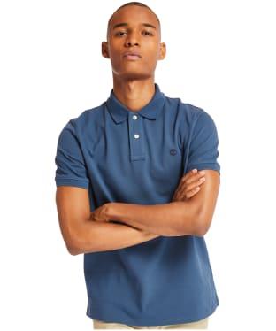 Men's Timberland S/S Millers River Polo Shirt - Dark Denim