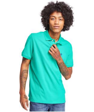 Men's Timberland S/S Millers River Polo Shirt - Deep Mint