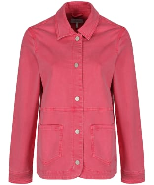 Women's Joules Imogen Denim Jacket - Rose