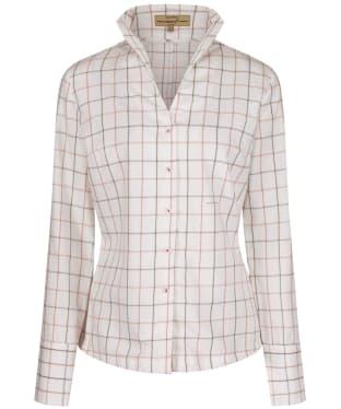Women's Dubarry Huckleberry Check Shirt - Berry Multi