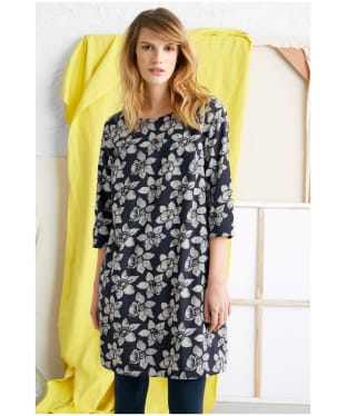 Women's Seasalt Moon Rock Dress - Linear Daffodils Dark Night