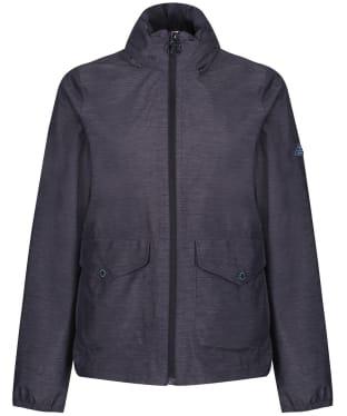 Women's Barbour Overland Waterproof Jacket - Navy Marl