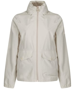 Women's Barbour Overland Waterproof Jacket - SAND DUNE MARL