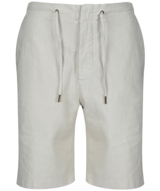 Men's Barbour Linen Mix Shorts - Light Stone