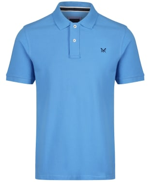Men's Crew Clothing Classic Pique Polo Shirt - Sky