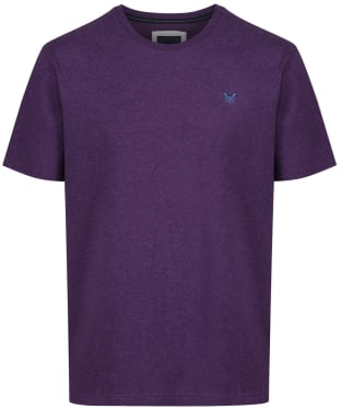 Men's Crew Clothing Classic Tee - Purple Marl