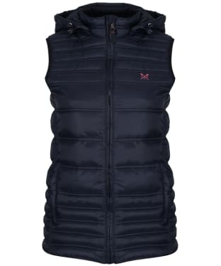 Women's Crew Clothing Quilted Lightweight Gilet - Dark Navy