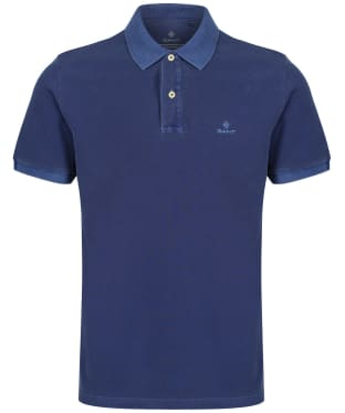 Men's GANT Sunbleached Polo Shirt - Persian Blue
