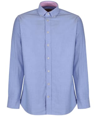 Men's Schöffel Soft Oxford Shirt - Pale Blue