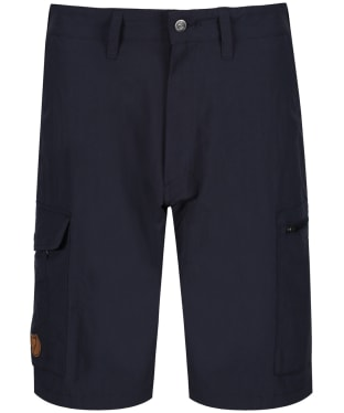 Men's Fjallraven Travellers MT Shorts - Dark Navy
