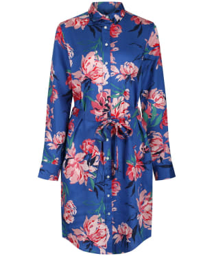 Women's GANT Peonies Print Shirt Dress