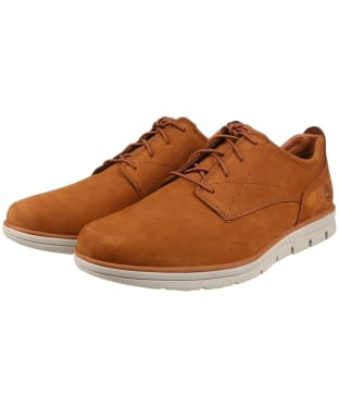 Men's Timberland Bradstreet Plain Toe Oxford Shoes - Saddle
