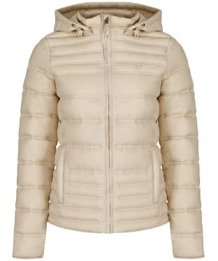 Women's Crew Clothing Quilted Dupont Jacket - Pebble