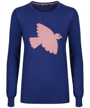 Women's Crew Clothing Bird Intarsia Jumper