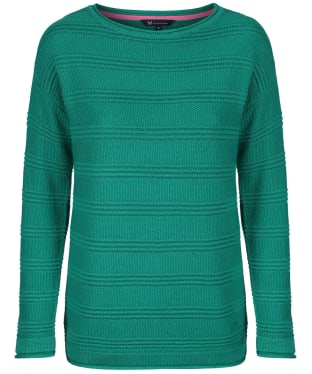 Women's Crew Clothing Salcombe Jumper - Alhambra Green