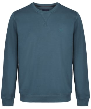 Men's Crew Clothing Crew Neck Pique Sweatshirt - High Seas