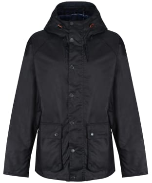 Men's Barbour Dolgo Waxed Jacket - Royal Navy