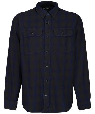Men's Filson Scout Shirt - Black / Indigo