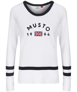 Women's Musto Sixty Four Knit - White