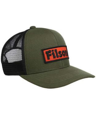 Men's Filson Mesh Logger Cap - Olive