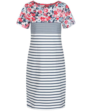 Women's Joules Riviera Print Dress - Cream Border Floral